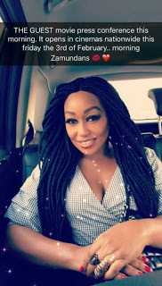 Actress Rita Dominic Looks Alluring In New Braids Hairdo And Baggy Pants [Photos]